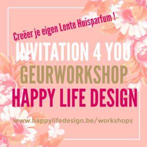Geurworkshop - Creëer je eigen Huisparfum