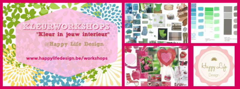 Kleurworkshops - 'Kleur in jouw Interieur'